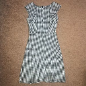 {Merona} fitted houndstooth career dress XS